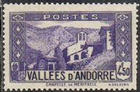 Andorra (French POs) SG F74 1942 Definitive 4f.50 unmounted mint FILLER